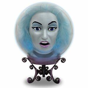 "Madame Leota Crystal Ball, Animatronic Halloween Decoration, 7.75"" x 10.75"""