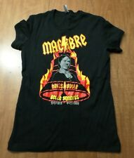 BELLE GUNNESS female serial killer juniors small Macabre T shirt Hell's Belle