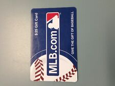 $25 MLB.com Gift Card