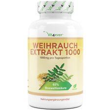 Weihrauch 360 Kapseln - 500 mg - 100% Extrakt mit 65% Boswelliasäure - Vit4ever