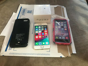 iPhone GOLD A1549 UNLOCKED (gsm x cdma) with accessorys & wireless extras