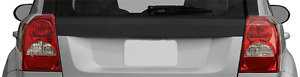 Tailgate Rear Blackout Graphic Decal Stripes for Dodge Caliber 2007-2012