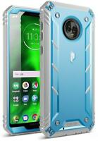 Poetic Revolution【Built-in-Screen Protector】Rugged Case For Motorola Moto G6 BU