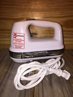 Cuisinart Power Advantage 5-Speed White Hand Mixer Hm-50 One-Touch Slide Control