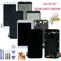 For LG K7 K330 LS675 MS330 LCD Touch Screen Digitizer Replacement With Frame U0