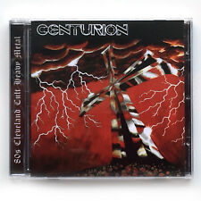 CENTURION - CROSS AND BLACK +2, CD BLOOD & IRON RECORDS 2017 US HEAVY '87 NEW