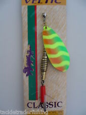 VELTIC CLASSIC SPINNER / LURE - FIRE TIGER - FOR ALL PREDATORY FISHING