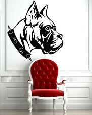 Wall Stickers Vinyl Decal Animal Dog Pitbull Bulldog Wall Decor Mural  ig023