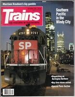 """[43815] """"TRAINS"""" MAGAZINE OCTOBER 1992 VOL 52, No. 10 """"SOUTHERN PACIFIC CHICAGO"""""""