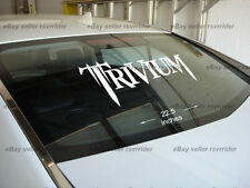 LARGE trivium decal sticker for car or truck