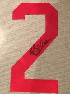 Hayley Wickenheiser Signed TEAM CANADA RED JERSEY Number - COA