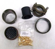 NEW VEAM CIR06AF-40A-31P-F80-T12 (31) PIN CIRCULAR PLUG KIT MALE MILITARY GRD RC