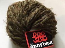 Anny Blatt Nanook #617 Verdi - Khaki Brown Alpaca Wool Nylon Yarn - 50 gr 49 yds