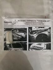 TK24/20 RENAISSANCE 1/24 rally decals SUBARU IMPREZA VERGOKAN Boucles Spa 1999