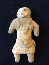 Statuette féminine femme terre cuite Koma Ghana Afrique Africa