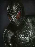 The Amazing Spider-Man 3 Black Venom Spider-Man Tights Cosplay Costume Suit