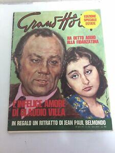 Rivista GRAND HOTEL Claudio Villa 1973