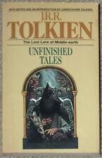 J.R.R. TOLKIEN ~ UNFINISHED TALES ~ LOST LORE OF MIDDLE EARTH ~ PB COVER HERRING