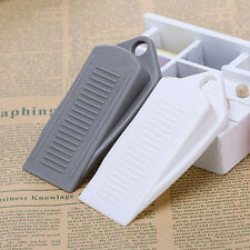 Rubber Wedge Door Stop Stopper Holder Safety Prevent Keep Door From Slamming