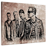 U2 Bono Framed Canvas Art Picture Poster Print A4 A3 A2 A1 Ready To Hang