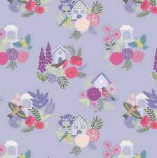 Lewis & Irene - Swallows and Blooms on Lavender