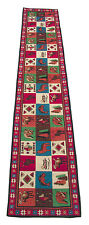 Lodge Collage Northwestern Design Table Runner 13x72 inches Moose Fish Elk Wolf