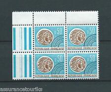 PRÉOBLITÉRÉS - 1964-69 YT 128 bloc de 4 - TIMBRES NEUFS** LUXE