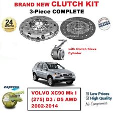 FOR VOLVO XC90 Mk I (275) D3 / D5 AWD 2002-2014 BRAND NEW 3PC CLUTCH KIT andCSC