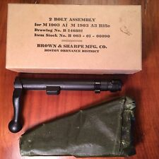 1903A3 SPRINGFIELD - 2 NOS BOLT BODIES WITH EXTRACTOR COLLAR by BROWN & SHARPE