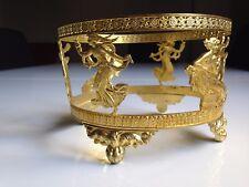 très belle monture ancienne pour centre de table empire bronze doré