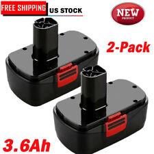 2X 19.2V 3.6Ah For Craftsman C3 Battery DieHard 11375 11376 130279005 130279003