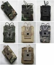 New Molle Short Radio Pouch 7 Colors--Airsoft