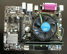 PLACA BASE 1150 GIGABYTE H81M-DS2 con G3460 3,5 GHz y 4GB RAM DDR3