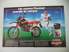 advertising Pubblicità 1986 MOTO MALAGUTI RUNNER 125