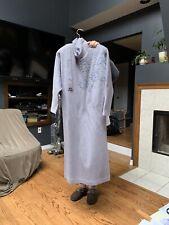 New Light Gray Wool Dress Size M