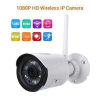 2MP Wireless Bullet IP Camera Motion Detection IP66 Waterproof Security Outdoor