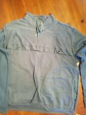 Vintage Men's Blue Sweatshirt -Snake Creek- Large-1980's-Blue / Textured Sleeves