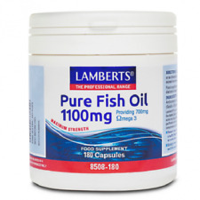 Lamberts Pure Fish Oil 1100mg 180 Capsules