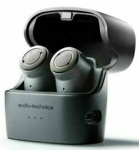 Audio-Technica QuietPoint Wireless Noise Cancelling ANC Headphones ATH-ANC300TW