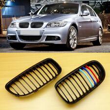 Matte Black ///M color BMW 3-Series E90/E91 LCI Front Grill 2009-2011 318d 320d