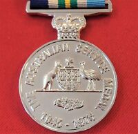 POST WW2 AUSTRALIAN ARMY NAVY AIR FORCE ACTIVE SERVICE MEDAL 1945-75 REPLICA