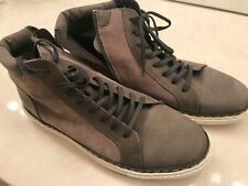 Crevo Size 12 Mens Shoes Zipper Grey Awesome 9/10 Condition