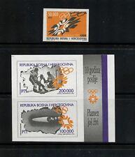 N982  Bosnia & Herzogivina  1994 Sarajevo Olympics IMPERF  MNH