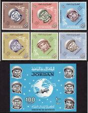 Jordan Scott # 491-96 VF MNH 1965 Space - Russian Cosmonauts + Souvenir Sheet