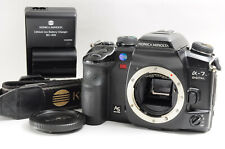 [Excellent] Minolta α-7 Digital Slr Body for A Mount w/ Charger and so on Read