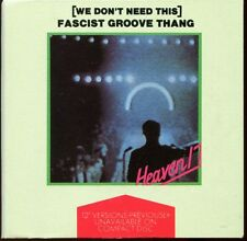 HEAVEN 17 - (WE DON'T NEED THIS) FASCIST GROOVE THANG - 3 INCH 8 CM CD MAXI