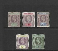 Historical Figures Pre-Decimal British Colony & Territory Stamps