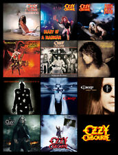 "OZZY OSBOURNE album discography magnet (4.5"" x 3.5"")"
