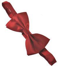 Plain colour pretied bow ties good quality