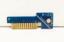 Snap on K-22 personality key MT2500 solus modis ethos versus scanners OBD II